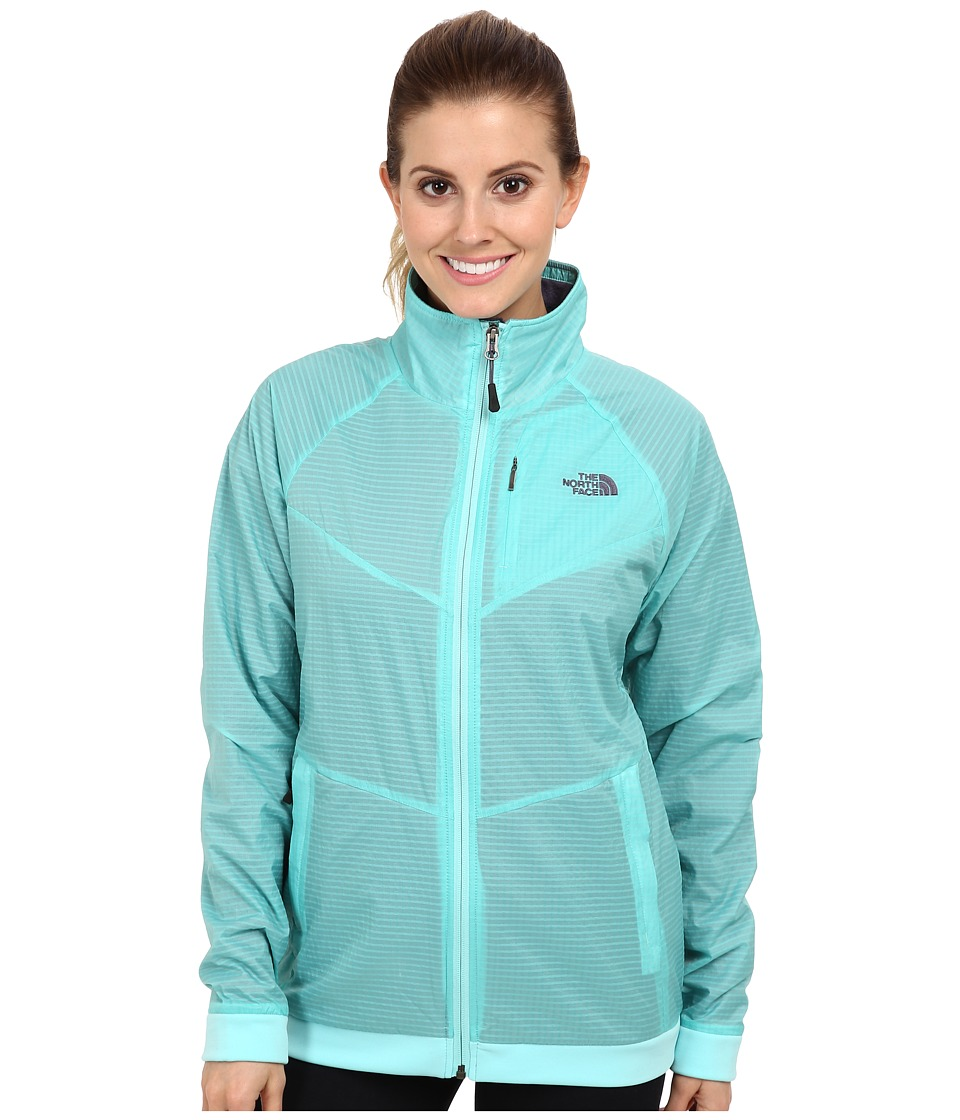 The North Face - Olancha Jacket (Mint Blue/Mint Blue) Women's Jacket