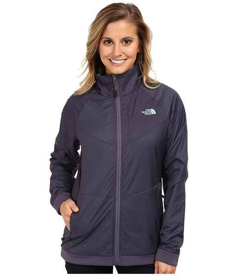 The North Face - Olancha Jacket (Greystone Blue/Greystone Blue) Women's Jacket