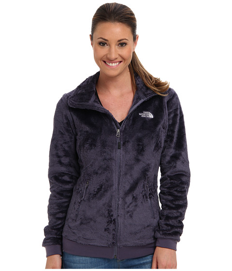 The North Face - Mod-Osito Jacket (Greystone Blue/Greystone Blue) Women's Coat