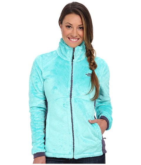 The North Face - Tech-Osito Jacket (Mint Blue/Greystone Blue) Women's Coat