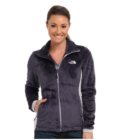 The North Face - Tech-Osito Jacket (Greystone Blue/Dapple Grey) Women's Coat