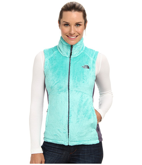 The North Face - Osito Vest (Mint Blue/Greystone Blue) Women's Vest
