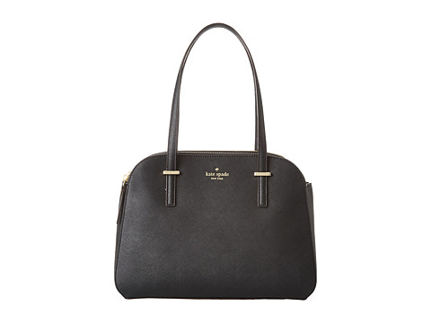 Kate Spade New York - Cedar Street Small Elissa (Black) Satchel Handbags
