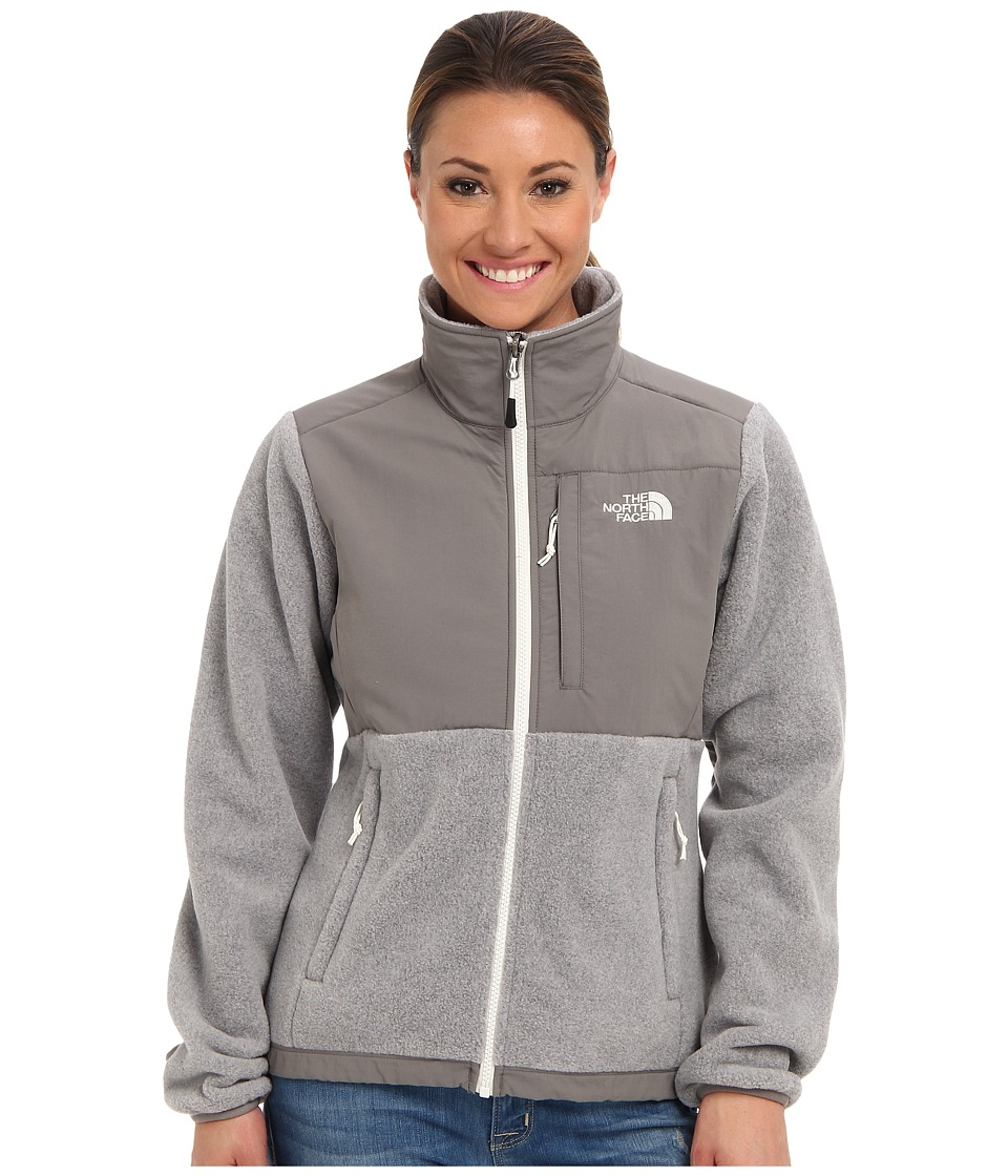 The North Face - Denali Jacket (Recycled High Rise Grey Heather/Pache Grey) Women's Coat