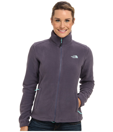 The North Face - Khumbu Jacket (Greystone Blue/Greystone Blue) Women's Coat