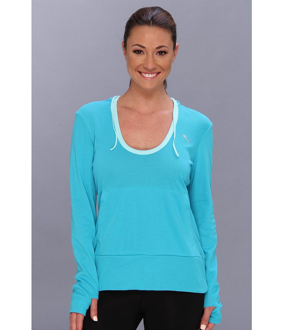PUMA - Adorbs Coverup (Bluebird) Women's Long Sleeve Pullover