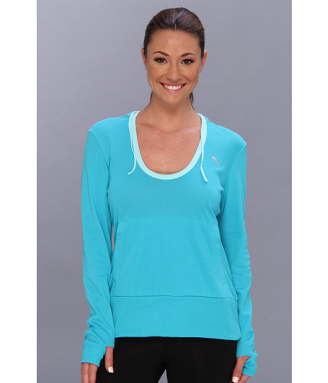 PUMA - Adorbs Coverup (Bluebird) Women's Long Sleeve Pullover