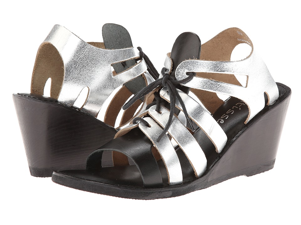 Matisse - Begin (Black/Silver) Women's Wedge Shoes