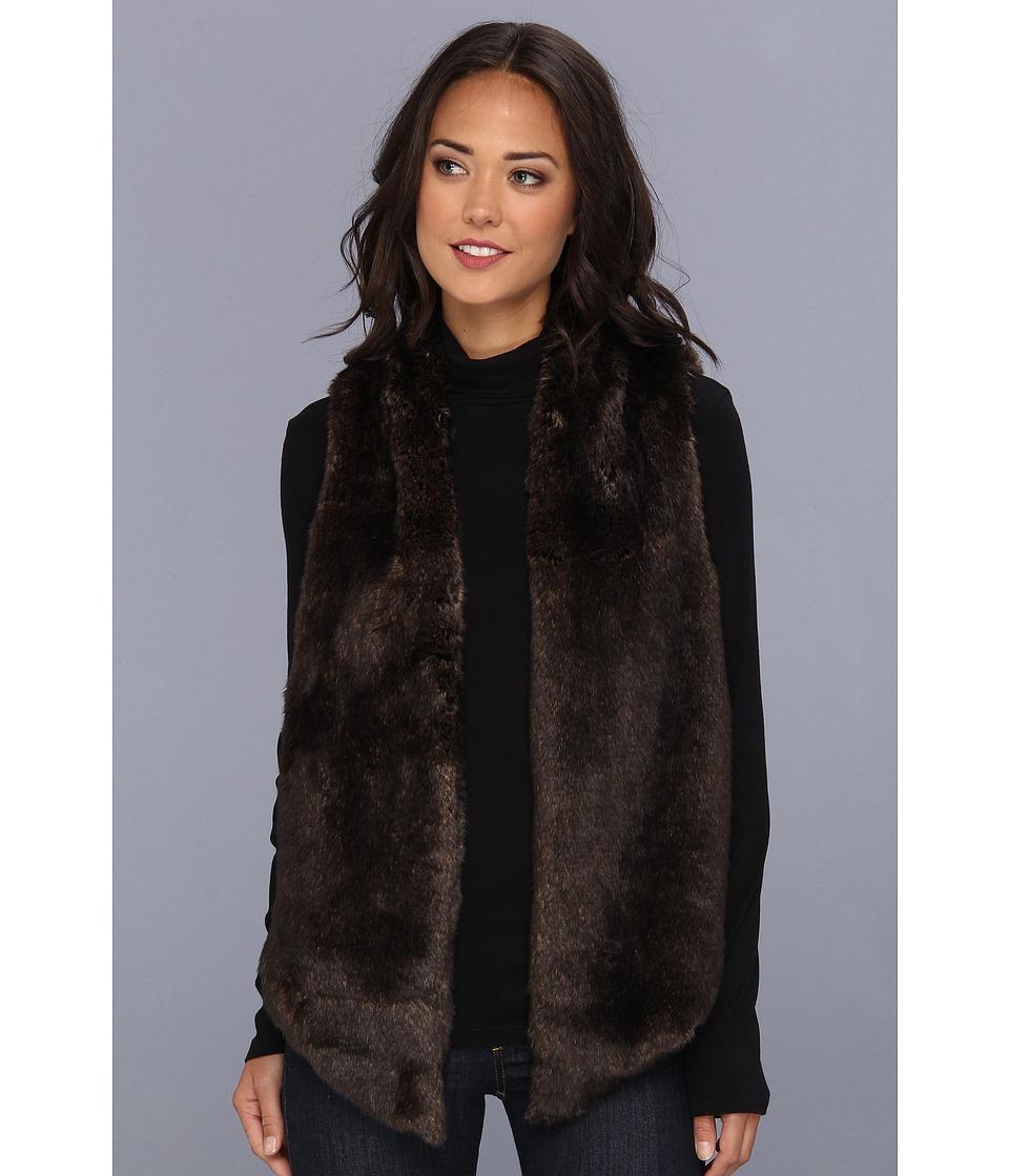 Tart - Kya Vest (Chocolate) Women's Coat