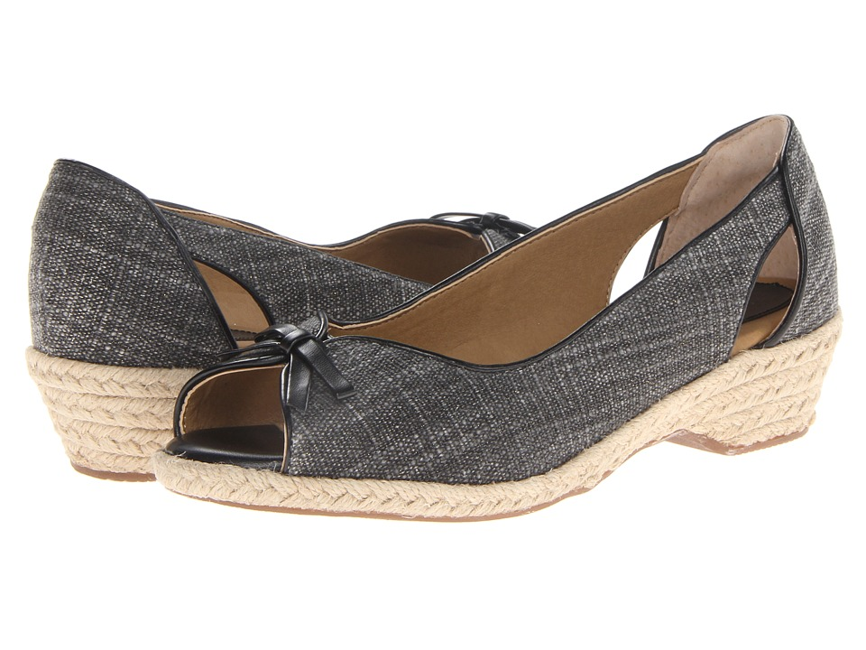 Softspots - Aden (Black/Black) Women's Shoes