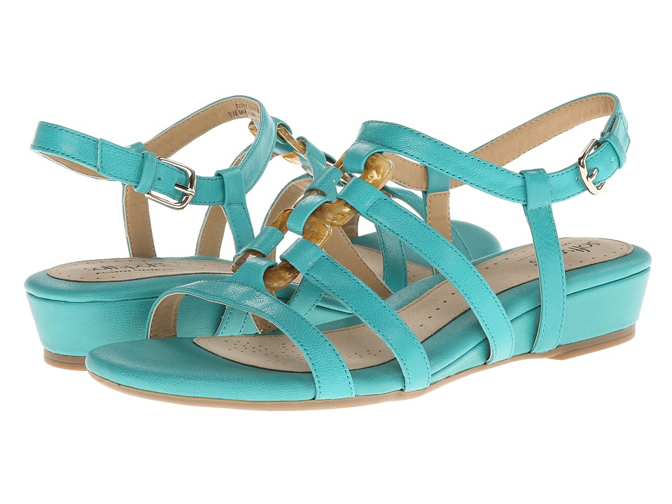 Softspots - Sabira (Aqua Goat LT Pull Up) Women's Sandals