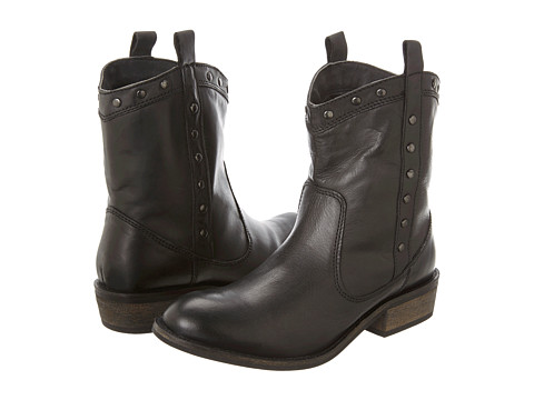 Dingo - Chopped (Black Buffalo) Cowboy Boots