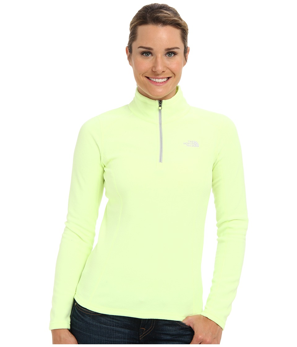 The North Face - Glacier 1/4 Zip (Rave Green) Women