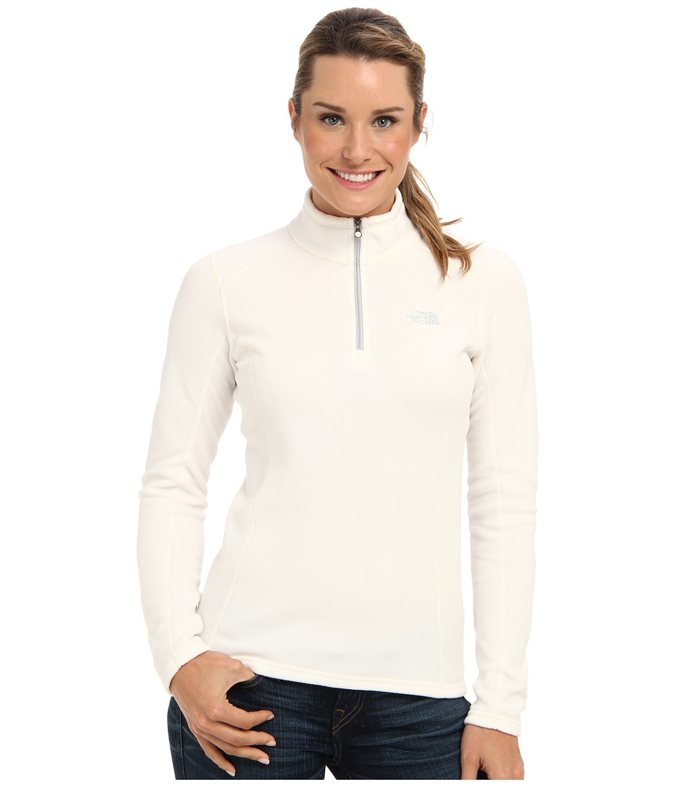 The North Face - Glacier 1/4 Zip (Gardenia White) Women