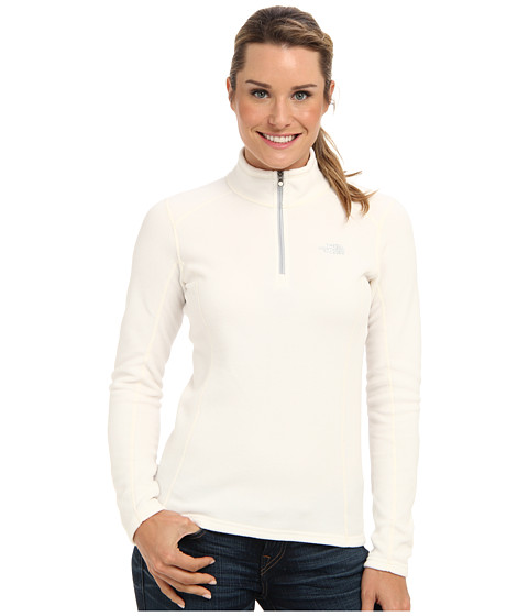 The North Face - Glacier 1/4 Zip (Gardenia White) Women's Sweatshirt