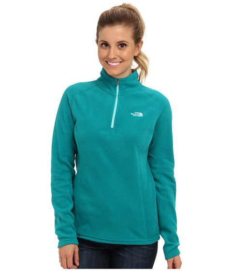 The North Face - Glacier 1/4 Zip (Fanfare Green) Women