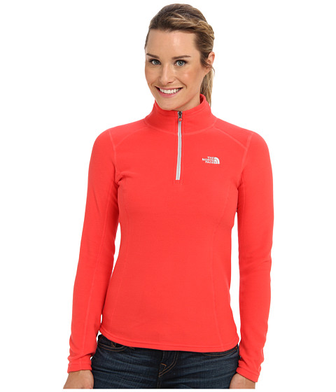 The North Face - Glacier 1/4 Zip (Rambutan Pink) Women's Sweatshirt