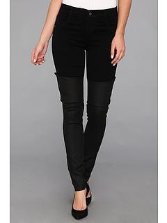 SALE! $119.99 - Save $96 on James Jeans Dietrich in Noir Black Jeather (Noir Black Jeather) Apparel - 44.45% OFF $216.00