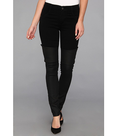James Jeans - Dietrich in Noir Black Jeather (Noir Black Jeather) Women's Jeans