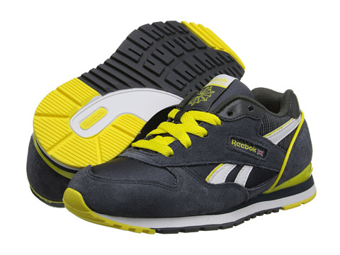 Reebok Kids - GL 2620 (Little Kid/Big Kid) (Graphite/Gravel/White/Ultimate Yellow) Kids Shoes