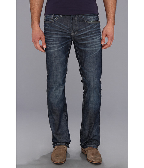 Buffalo David Bitton - King Slim Boot in Darker Aged Blasted (Darker Aged & Blasted) Men's Jeans