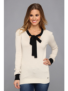 SALE! $29.99 - Save $30 on Volcom Rebel Neck Tie Sweater (Old White) Apparel - 49.60% OFF $59.50