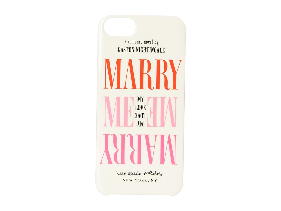 Kate Spade New York - Marry Me Phone Case for iPhone 5 (Multi) Cell Phone Case