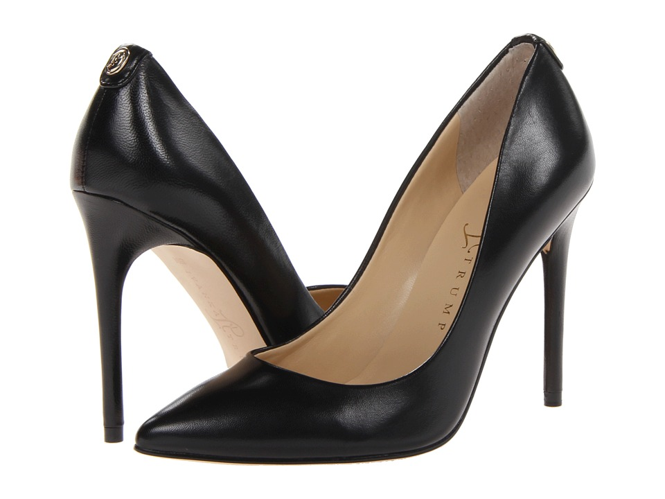 Ivanka Trump Kayden 4 (Black Leather) High Heels