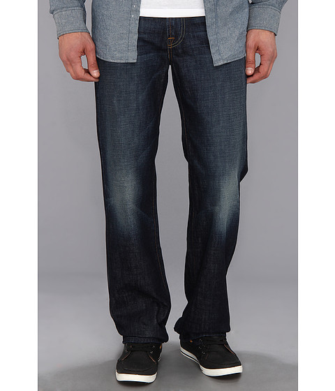 7 For All Mankind - Austyn Relaxed Straight in Route 77 (Route 77) Men