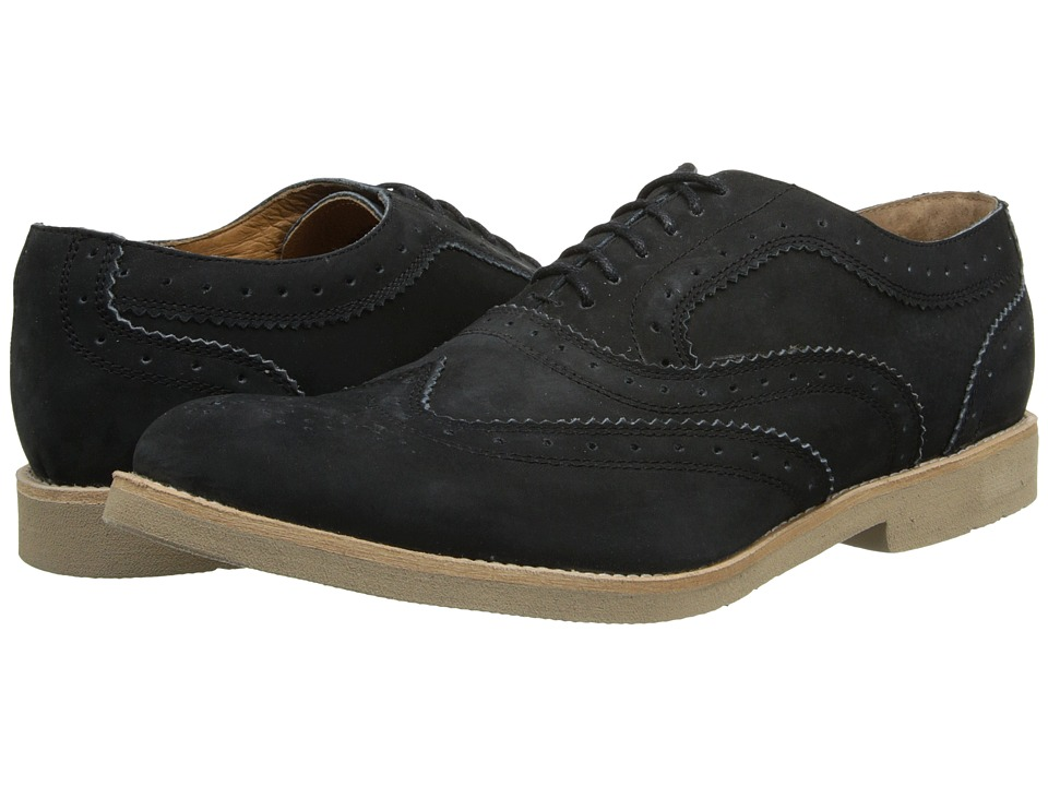JD Fisk - Charles (Black) Men's Lace up casual Shoes
