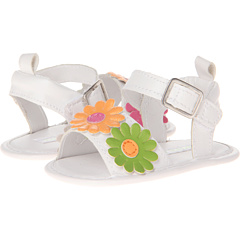 SALE! $11.99 - Save $5 on Laura Ashley Kids LA6031 (Infant Toddler) (White Multi) Footwear - 29.43% OFF $16.99