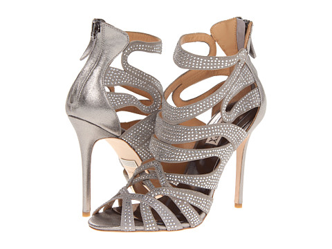 Badgley Mischka - Taylar (Anthracite Metallic) High Heels