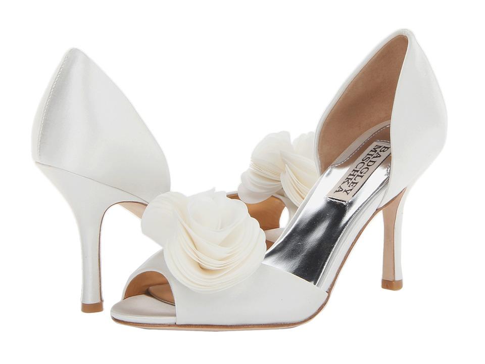 3cd032f50d1 Badgley Mischka - Thora (White Satin) High Heels