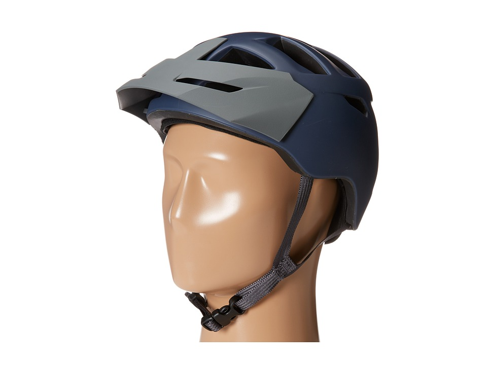 Bern - Morrison Bike (Matte Navy w/Grey Hard Visor) Cycling Helmet