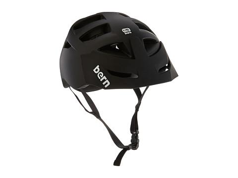 Bern - Morrison Bike (Matte Black w/Black Hard Visor) Cycling Helmet