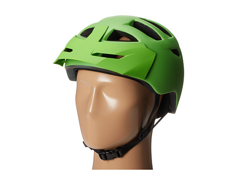 Bern - Morrison Bike (Matte Neon Green w/Green Visor) Cycling Helmet