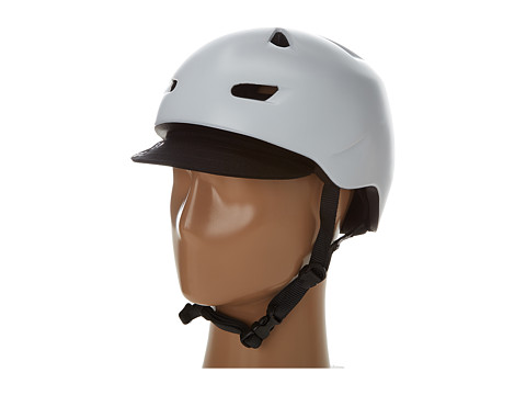 Bern - Brentwood Bike (Satin White w/Flip Visor) Cycling Helmet