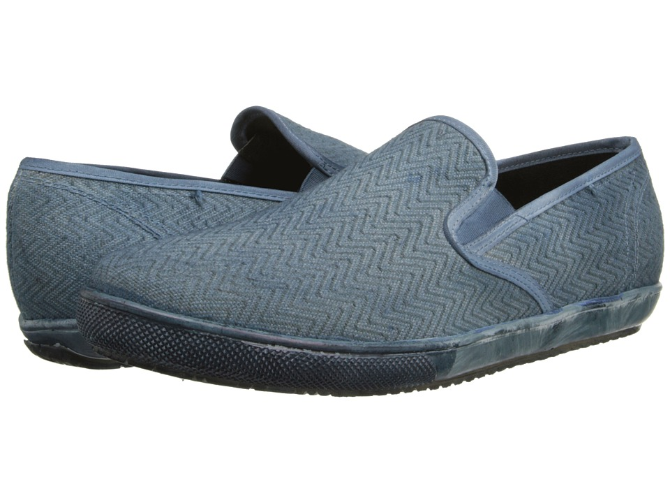 JD Fisk - Hanson (Blue) Men's Slip on Shoes