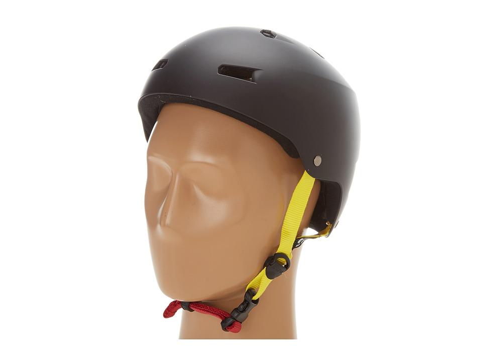 Bern - Macon Skate (Matte Black Rasta) Skateboard Helmet