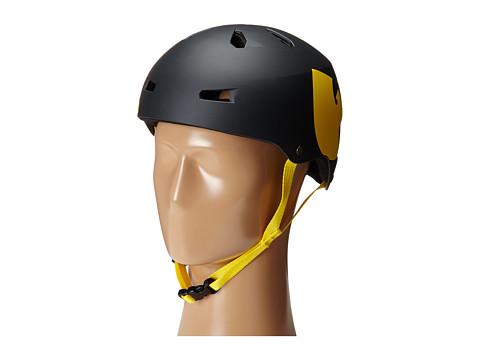 Bern - Macon Skate X Wu-Tang (Wu-Tang Matte Black) Skateboard Helmet