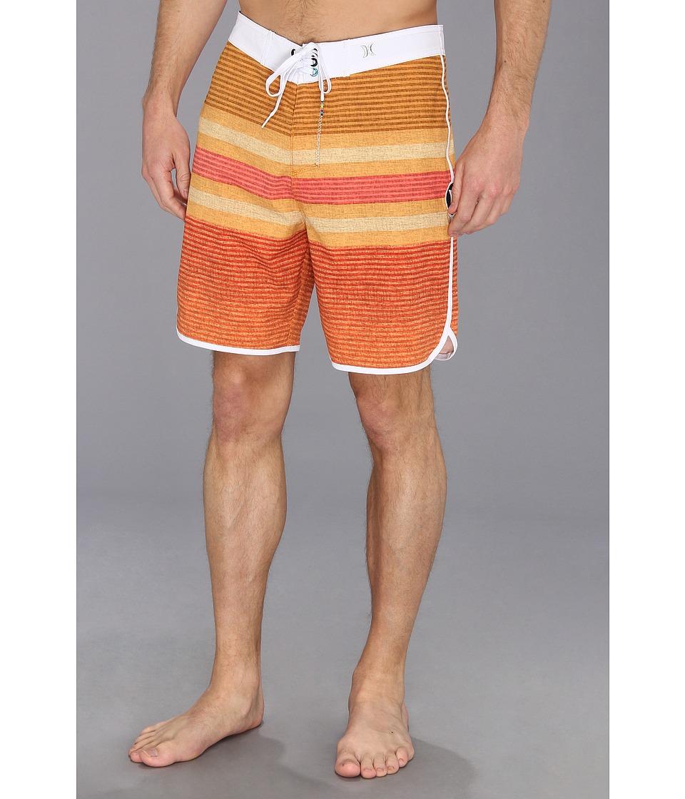 Hurley - Phantom Warp 3 Boardshort (Neon Orange Hurley) Men