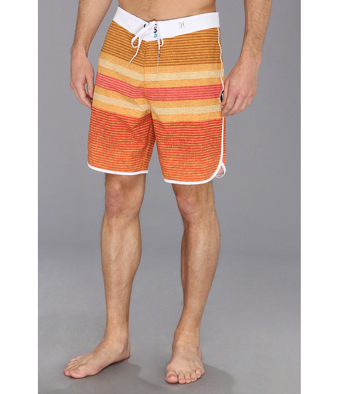 Hurley - Phantom Warp 3 Boardshort (Neon Orange Hurley) Men's Swimwear