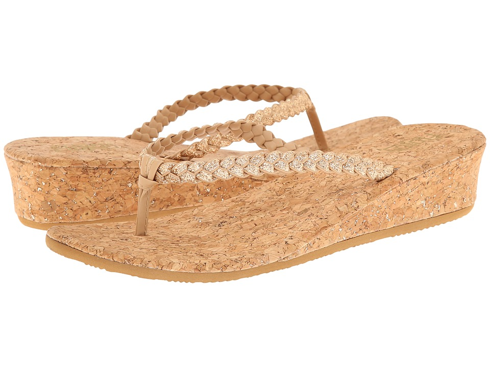 Flojos - Hannah (Gold) Women's Sandals