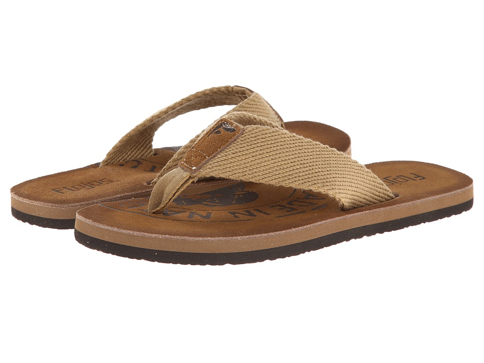 Flojos - Natural (Saddle) Men's Sandals
