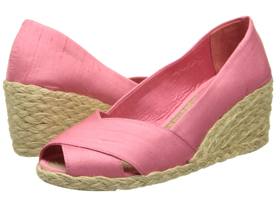 LAUREN by Ralph Lauren - Cecilia (Guava) Women's Wedge Shoes