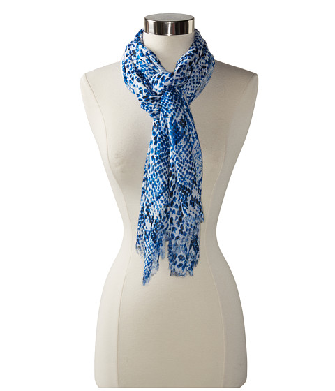Michael Stars - Tinted Python Wrap (Pacific) Scarves