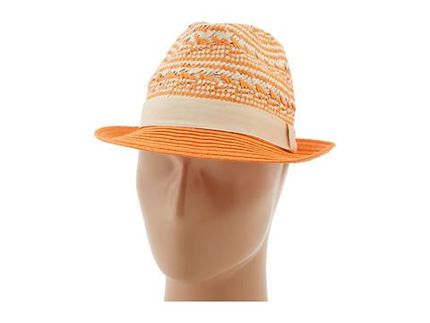 Michael Stars - Tip Top Fedora (Tangerine) Fedora Hats