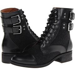 Nina Originals Jiffy (Black Shiny Bx Charcoal) Footwear