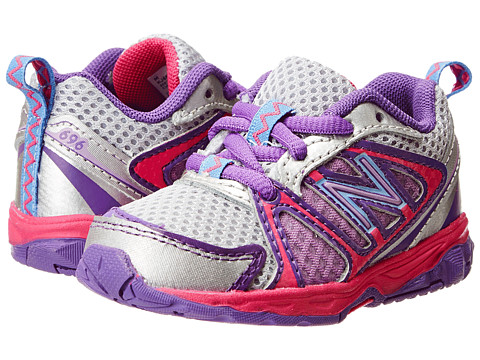 New Balance Kids - KJ696 (Infant/Toddler) (Pink/Purple) Girls Shoes