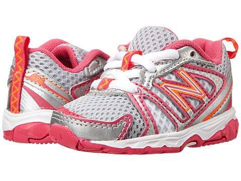 New Balance Kids - KJ696 (Infant/Toddler) (Pink/Multi) Girls Shoes